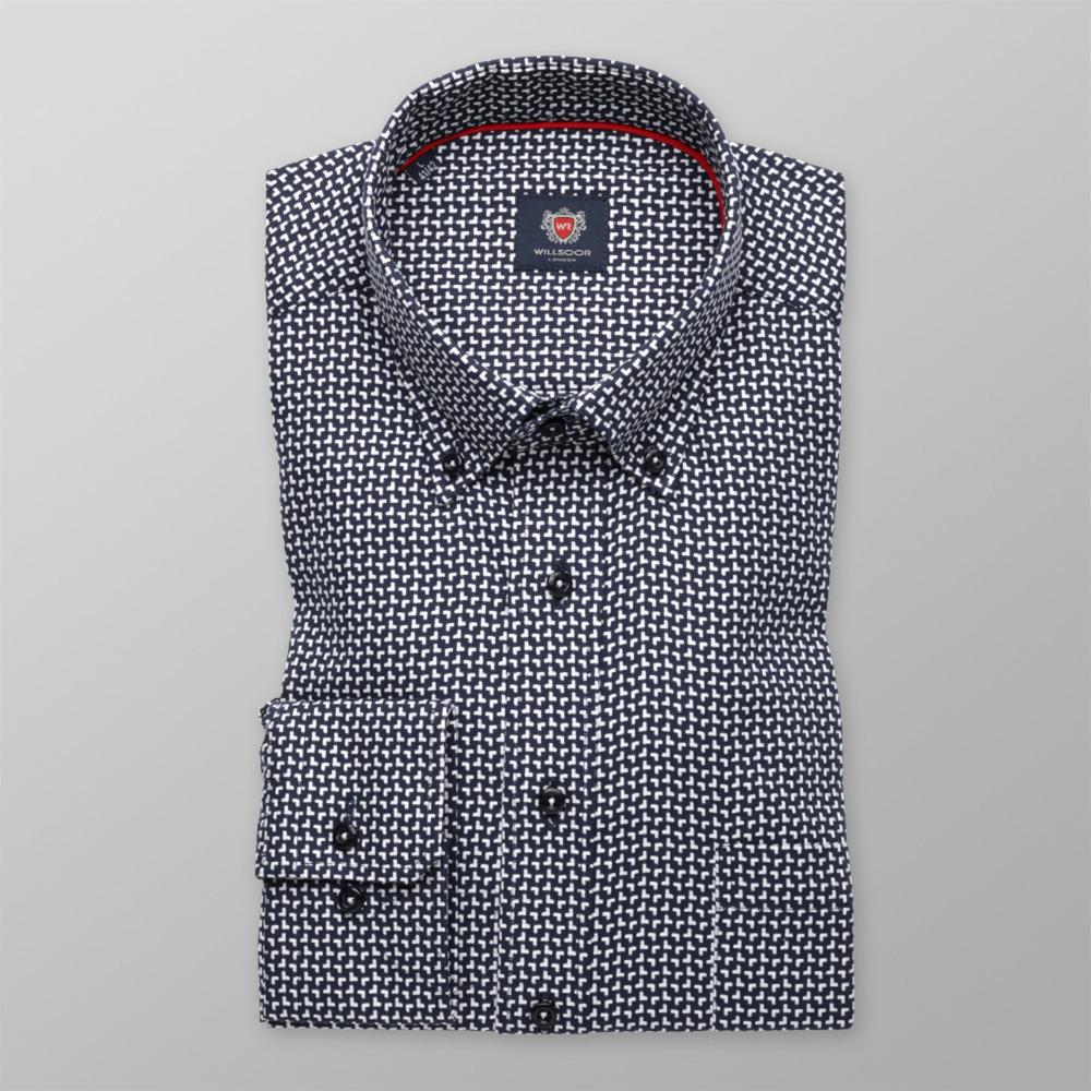 0a754349270 Košile London geometrický vzor (všechny velikosti) 9729. 164 170 cm