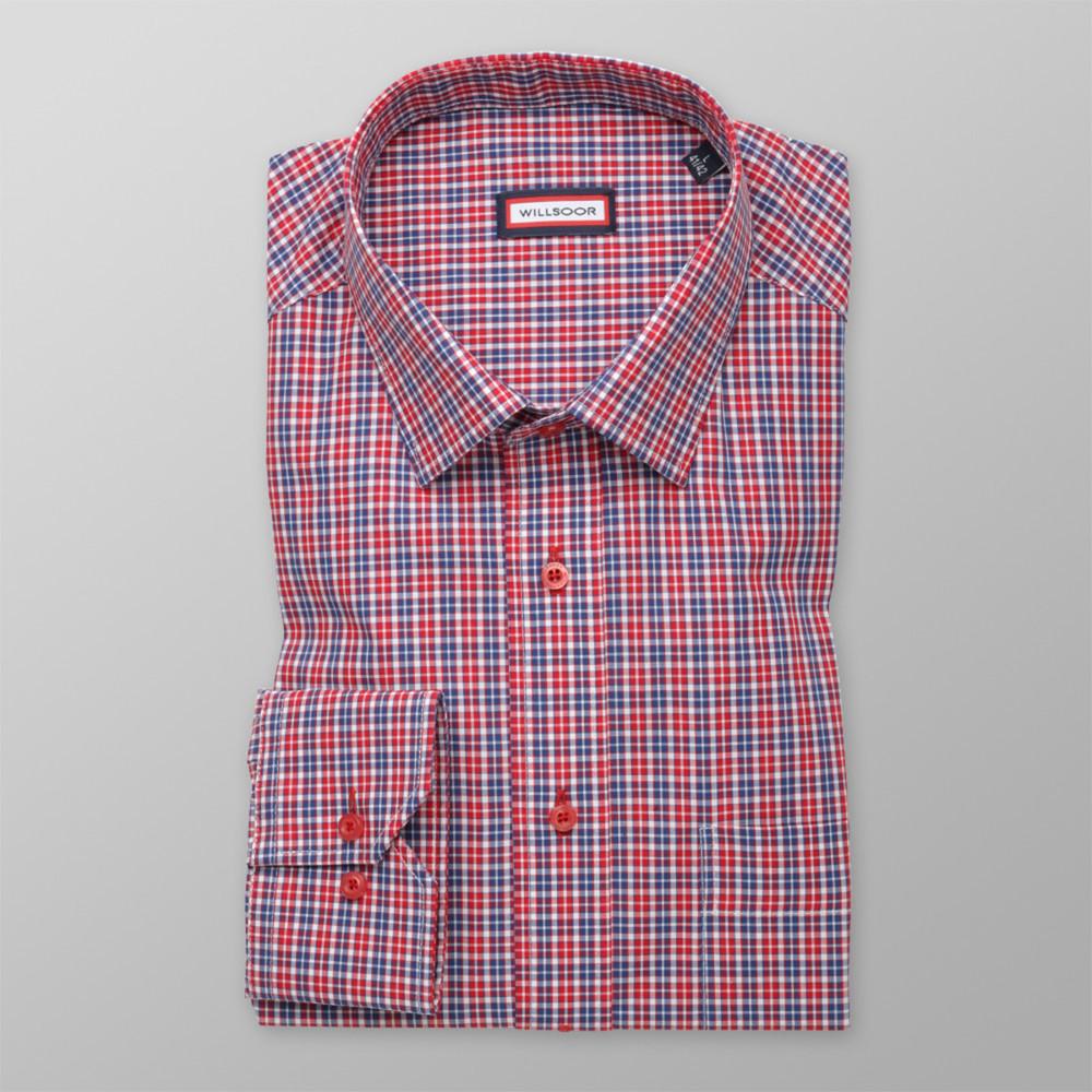 Košile London kostkovaný vzor (výška 164-170) 9823 - Willsoor d66c83bcc0