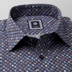 Košile Slim Fit puntíkovaná (výška 176-182 a 188-194) 10157 - Willsoor e5b61b81ac