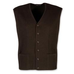 Pánská pletená vesta Willsoor 8238 v antracitové barvě · Pánská vesta na  knoflíčky 10373 623cb8bfa4