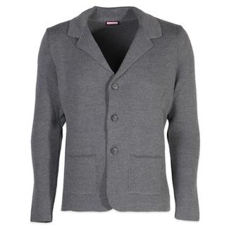 Pánský svetr na knoflíky Willsoor 6110 v šedé barvě - Willsoor 4774599ee5
