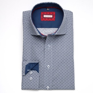 Pánské košile slim fit - módní značka Willsoor SLEVA - Willsoor - 12 f5c11b8bb5