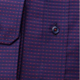 Pánská slim fit košile London (výška 176-182) 6991 v modro-fialové ... 1f1cc63d8a
