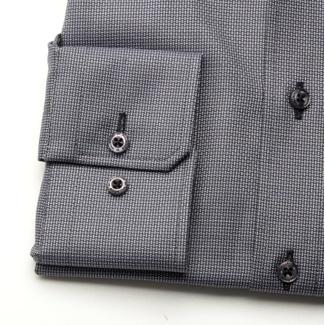 ... Pánská slim fit košile London (výška 176-182) 6998 v grafitové barvě s  ... ae1157633a