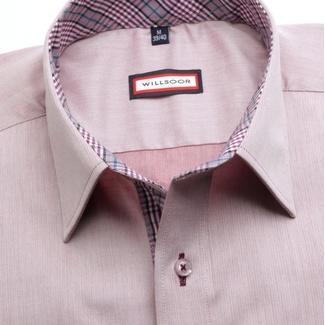 a2f81229b22 Pánská slim fit košile (výška 164-170) 7444 ve fialkové barvě