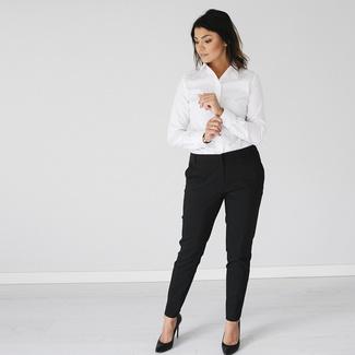 be3c03e591d Dámská košile Willsoor 809 v bílé barvě - Willsoor
