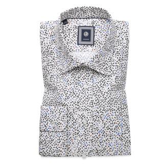 47ec4b71778 Košile Slim Fit s potiskem kapek (výška 176-182) 9733